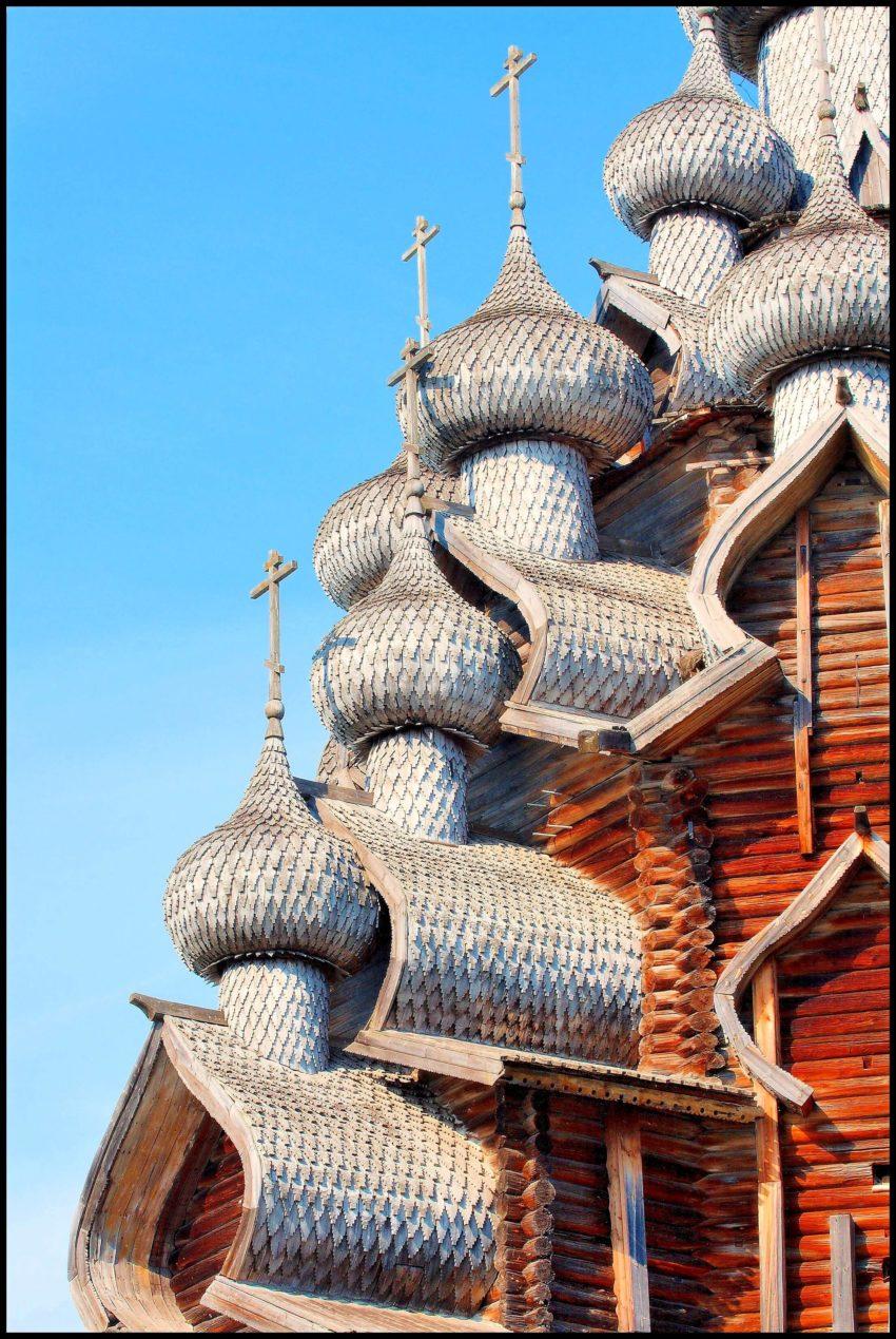 Największa drewniana cerkiew świata w Kiży