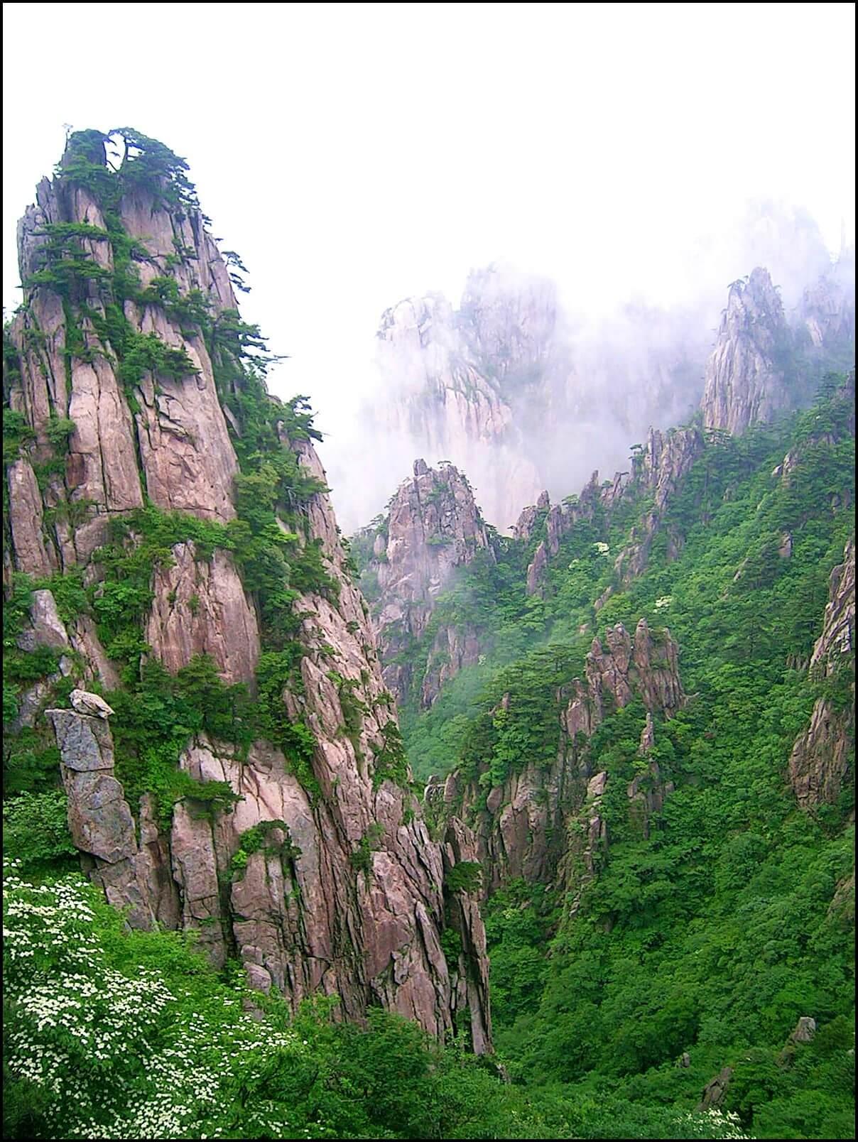 Huangshan - życie w Chinach