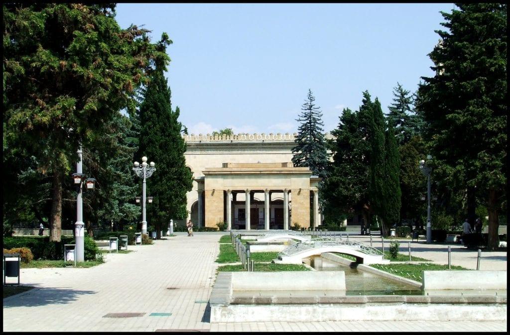 Dom Stalina w Gruzji i jego otoczenie