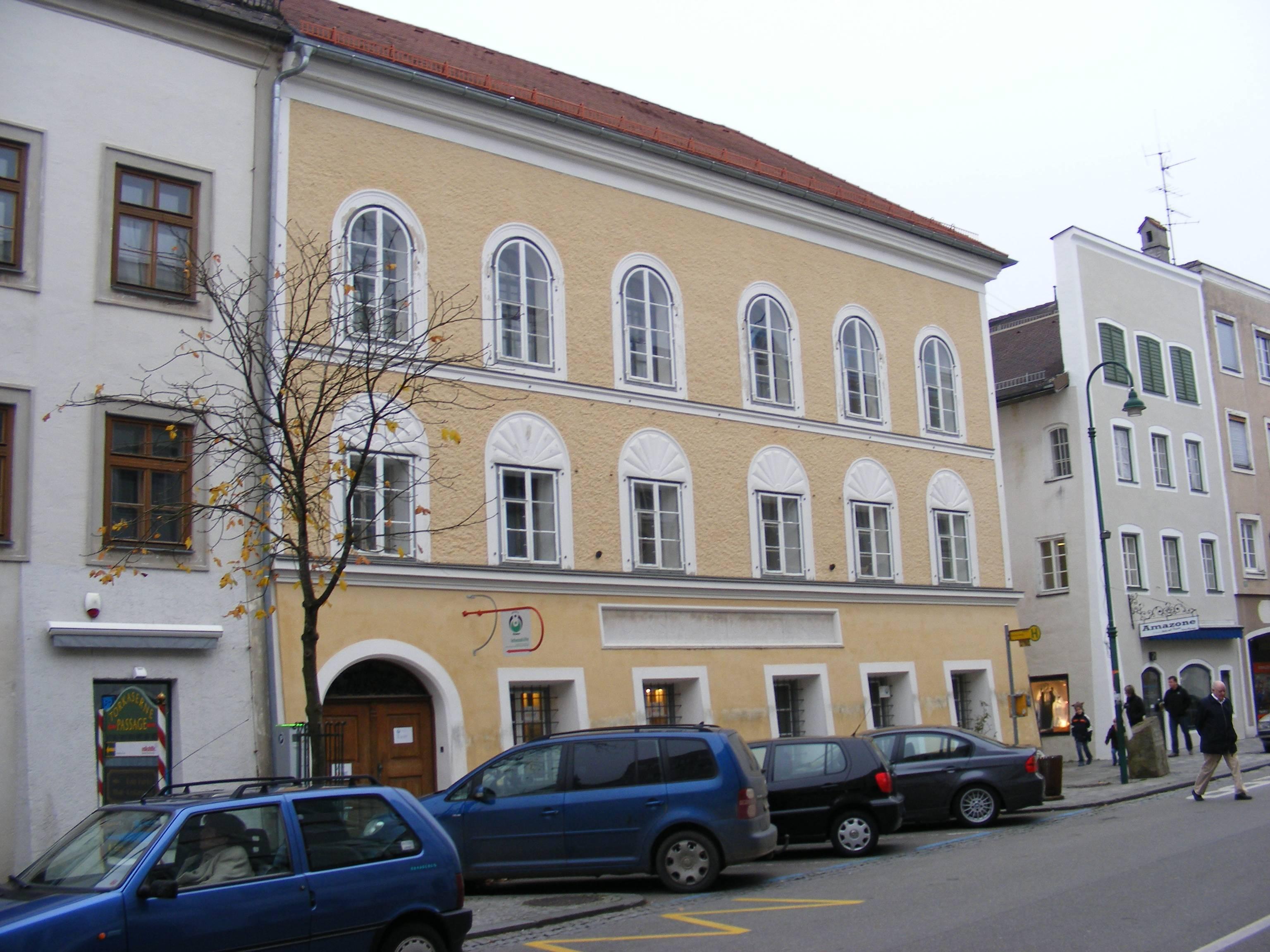 Dom Hitlera Austria Braunau am inn Podróże szyte na miarę