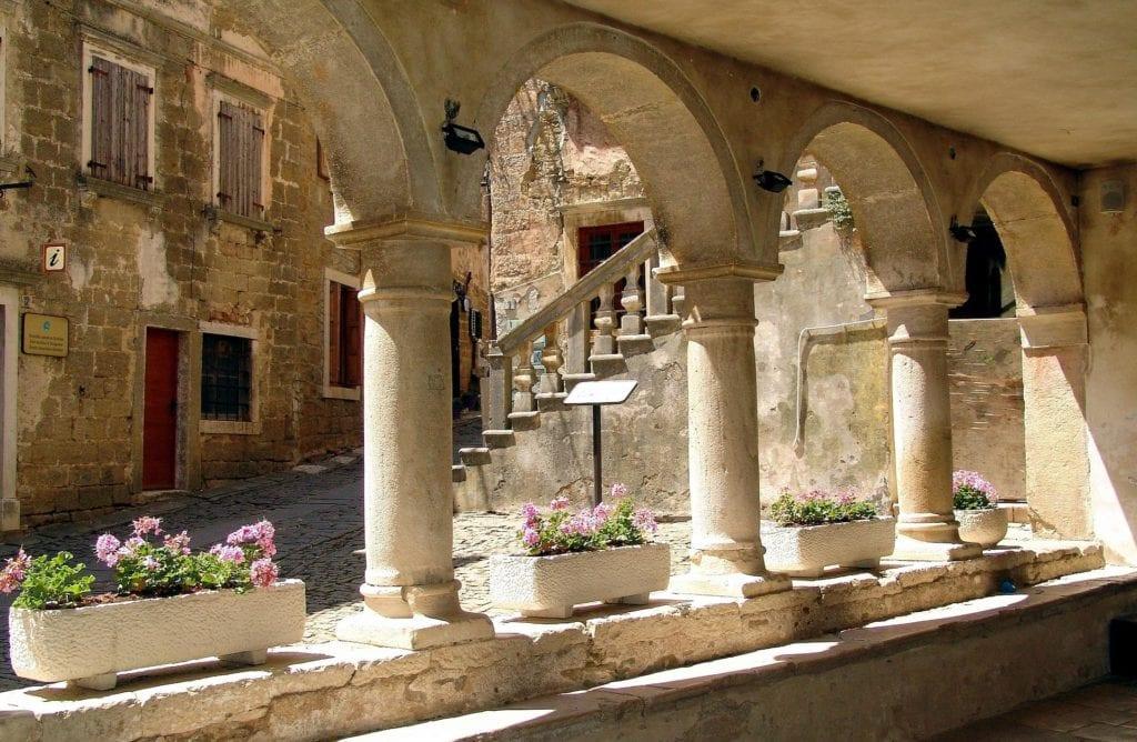 zabytki Groznjan polwysep Istria
