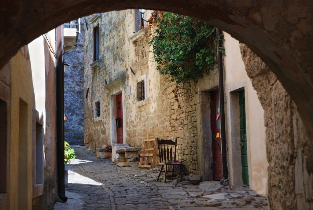 Groznjan Istria Chorwacja