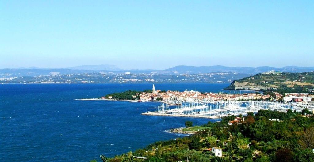 Riwiera Słoweńska - Izola Wybrzeże Adriatyk Morze