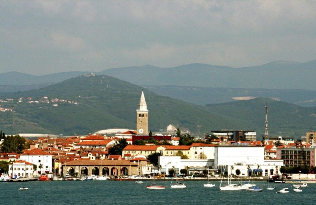 Riwiera Słoweńska - Koper Słowenia Morze Adriatyckie