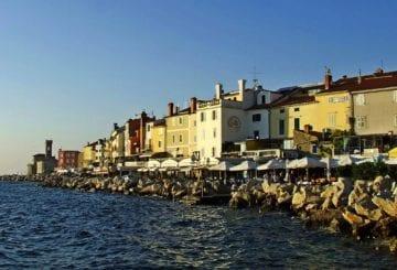 Adriatyk Słowenia wybrzeże Piran