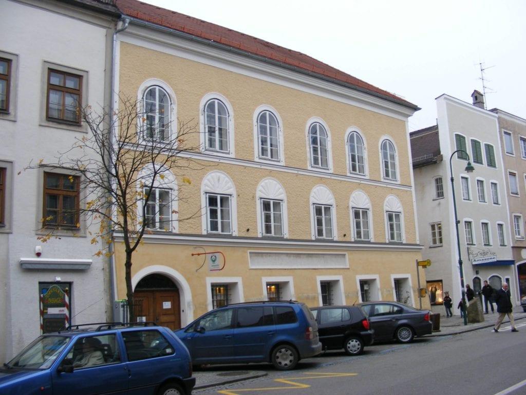 Braunau am Inn - dom Adolfa Hitlera