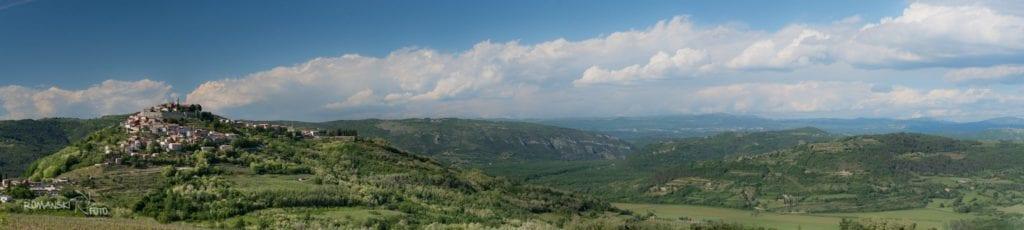 Istria - Motovun perła Istrii Chorwacja