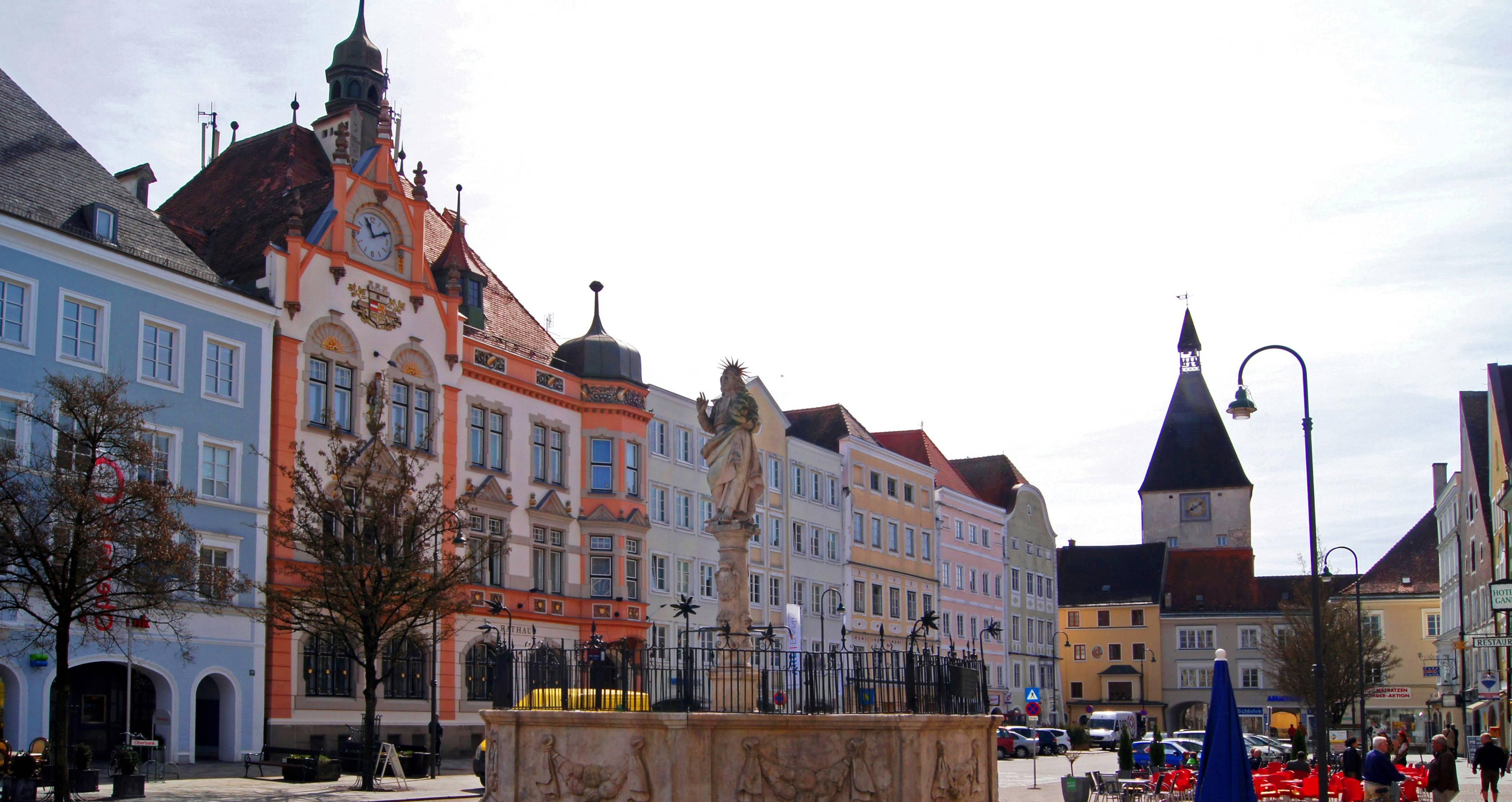 Braunau am Inn Austria Dom Hitlera Podróże szyte na miarę