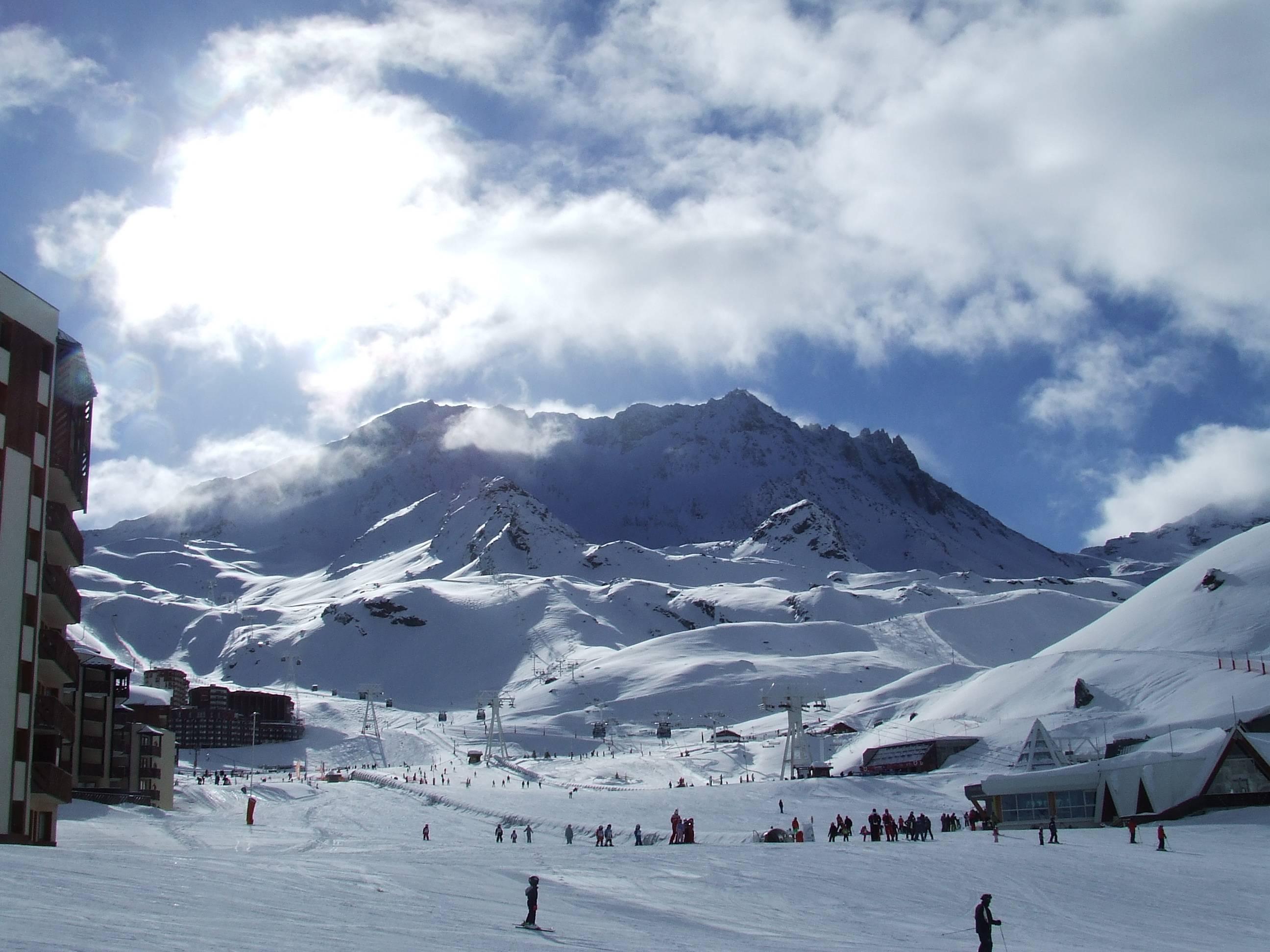 Val thorens ski narty alpy francja