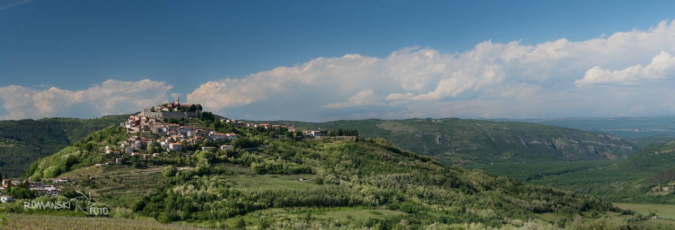 Motovun Chorwacja Panorama