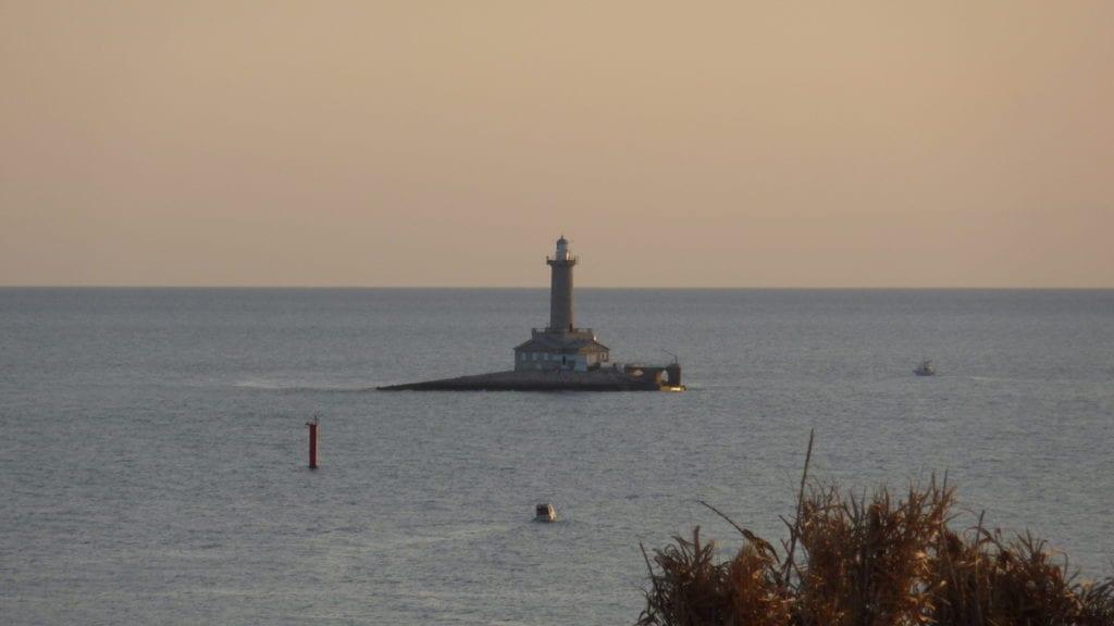 Latarnia morska Kamenjak Chorwacja Istria