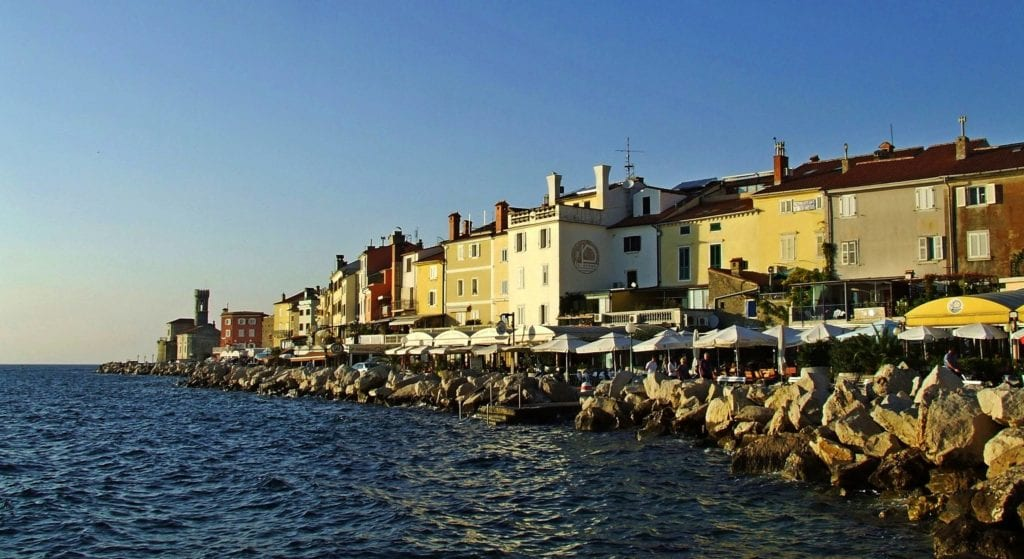 Riwiera Słoweńska - Piran Adriatyk Wczasy Wybrzeże