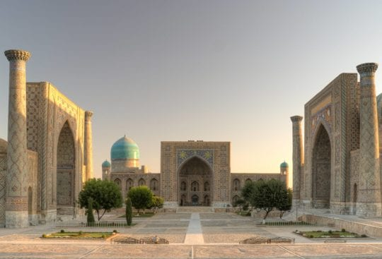 Plac Registon Samarkanda Travel Architects