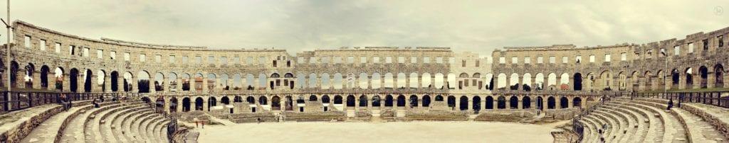 Istria - Pula Istria Chorwacja koloseum