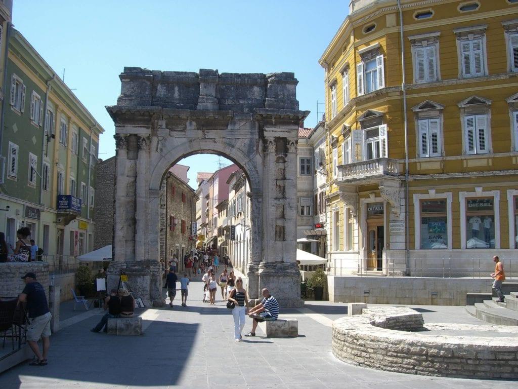 Istria - Pula Istria Chorwacja