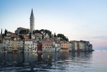 Rovinj wybrzeże Chorwacja