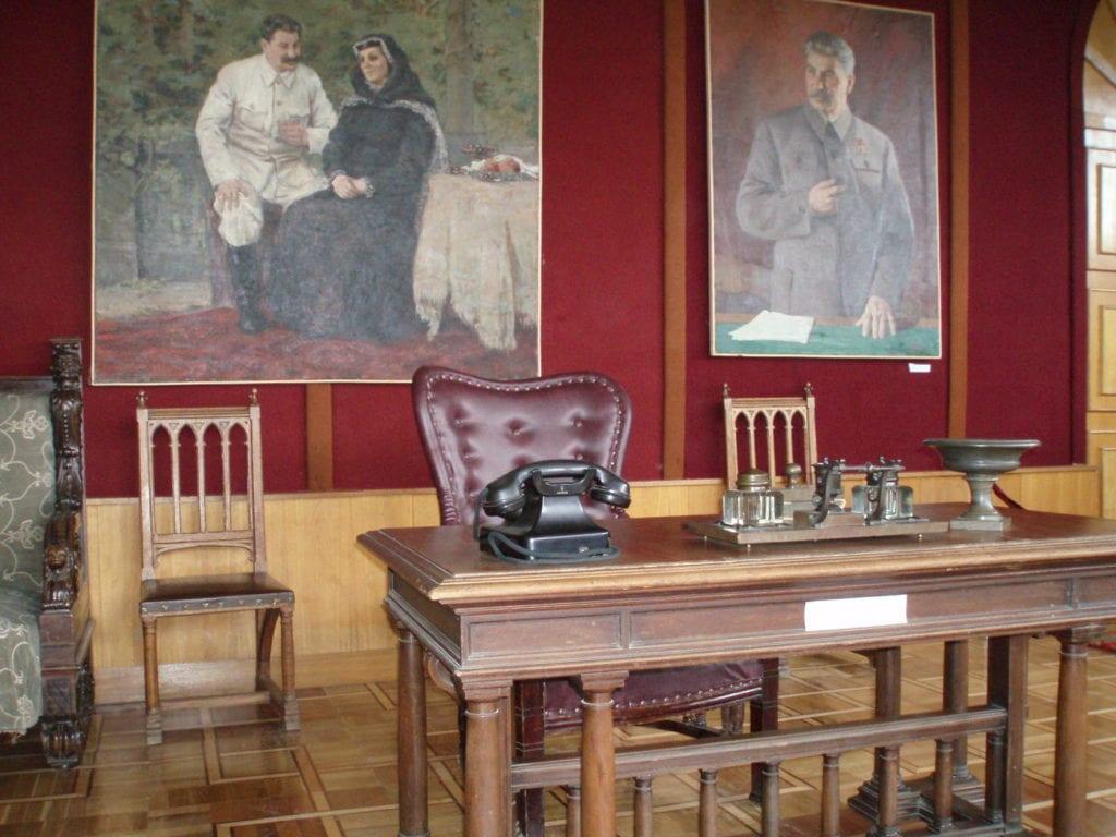 Dom Stalina w Gruzji - wnętrze