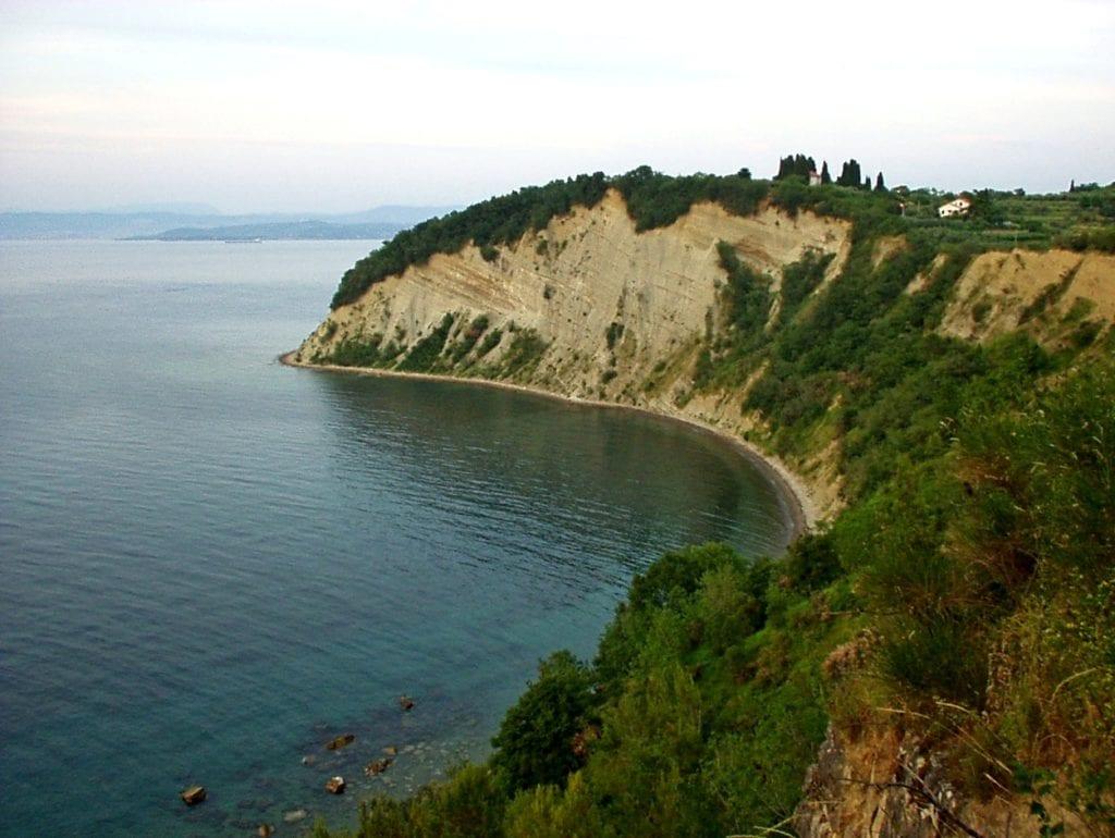 Riwiera Słoweńska - Słowenia Adriatyk Klif Strunjan