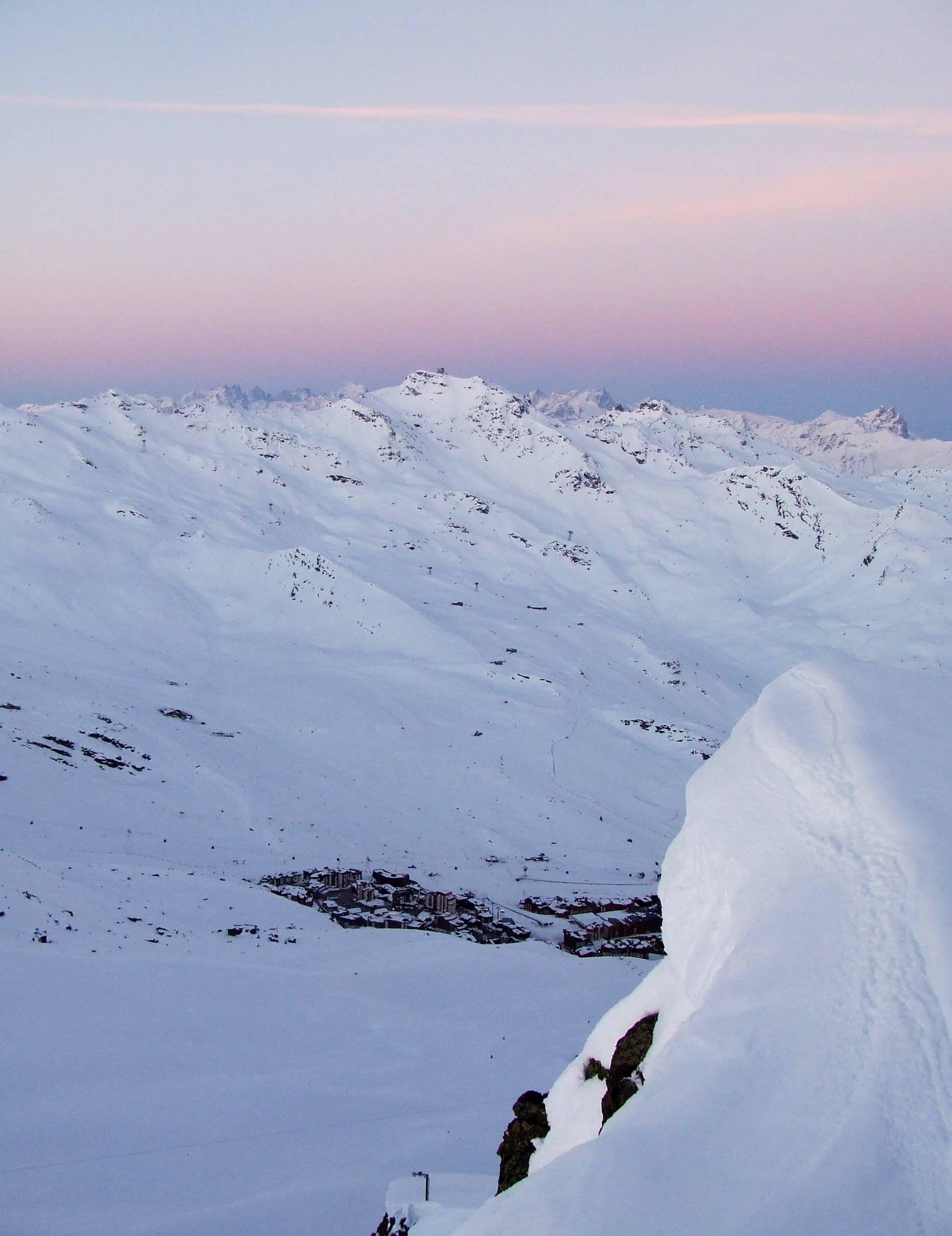 Val Thorens narciarski raj w chmurach