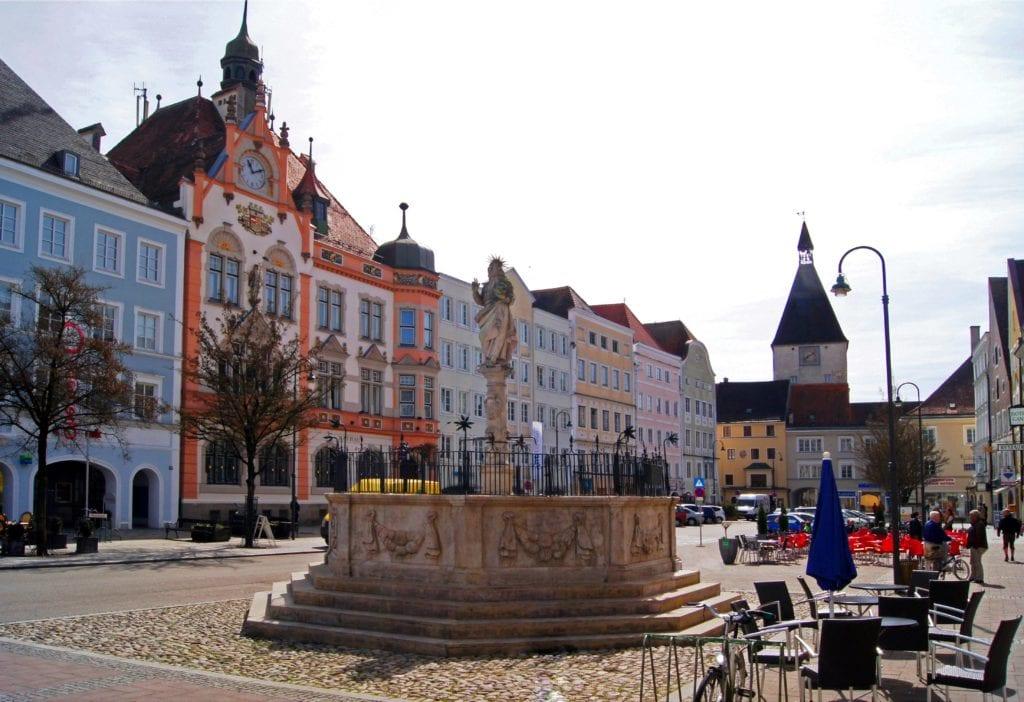 Braunau am Inn Austria - dom Adolfa Hitlera