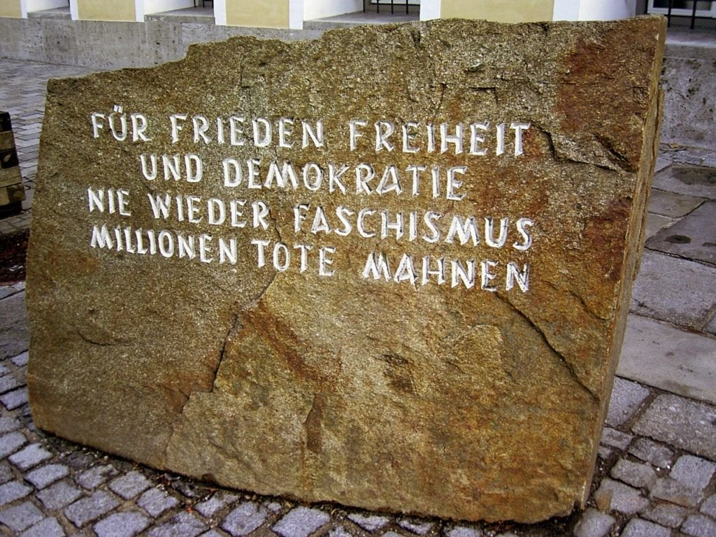 dom Adolfa Hitlera - tablica