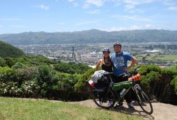 Podróż rowerami dookoła Nowej Zelandii