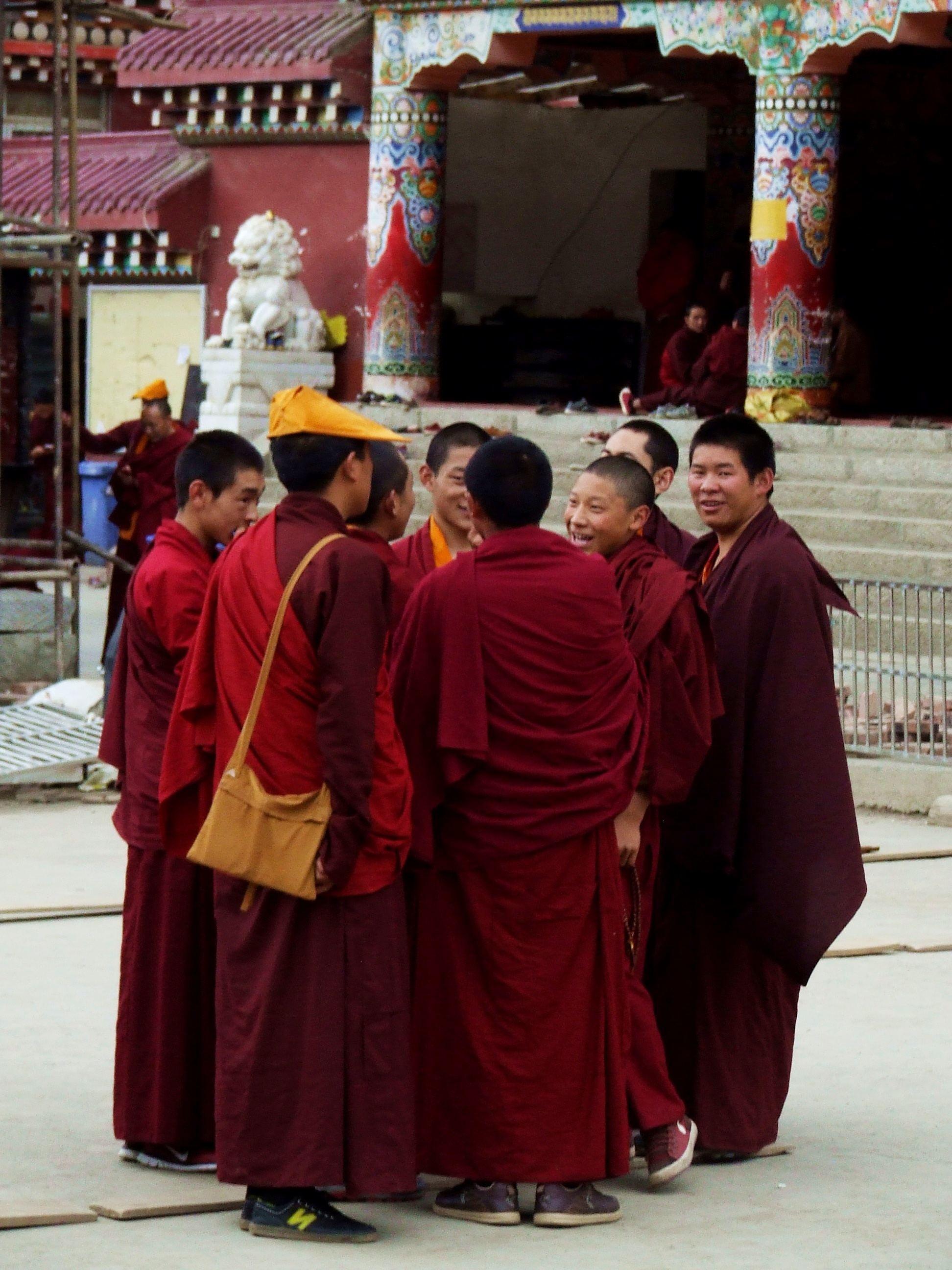 Mnisi buddyjscy w Tybecie - akademia buddyjska