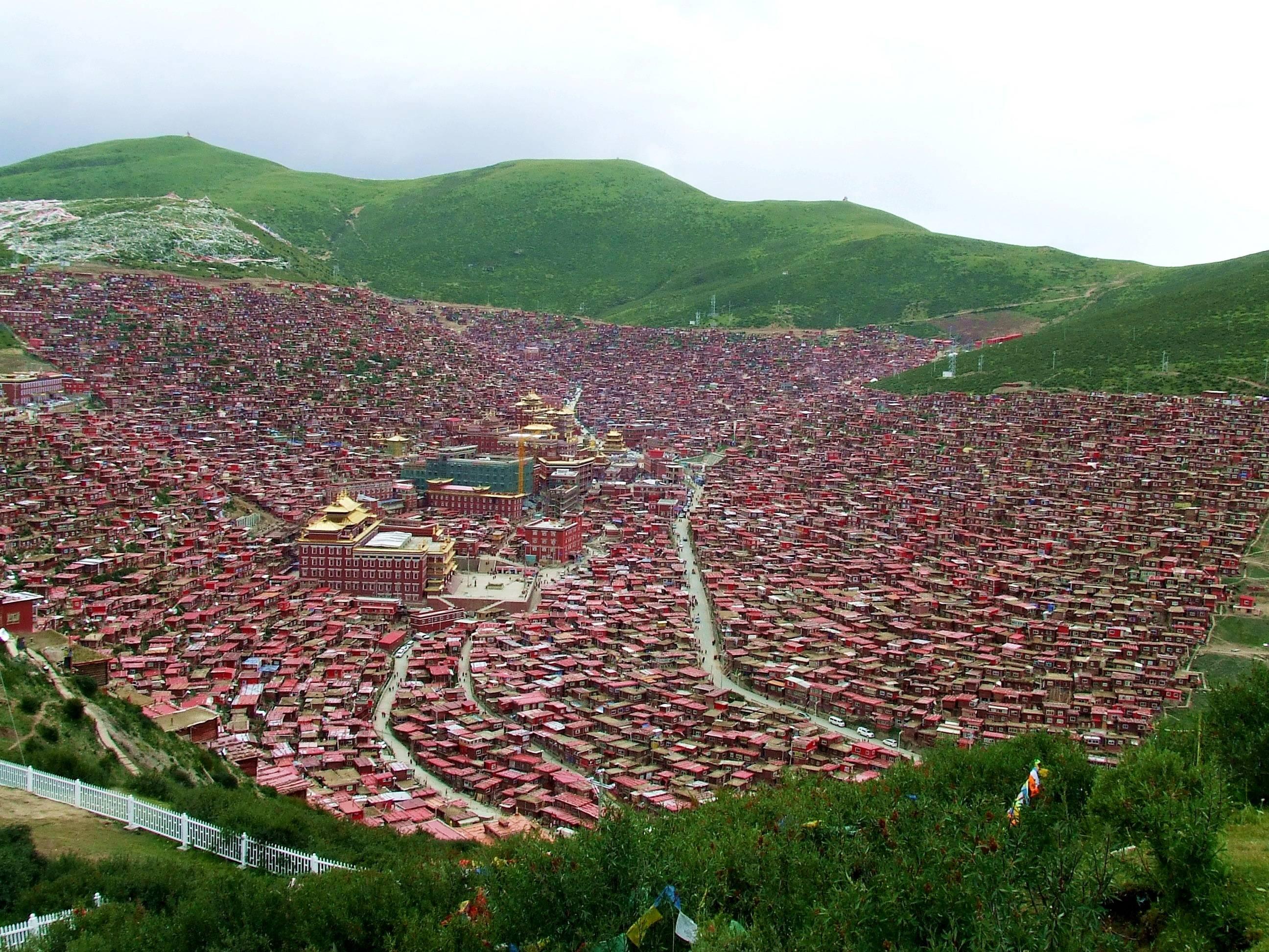 Akademia buddyjska w Tybecie