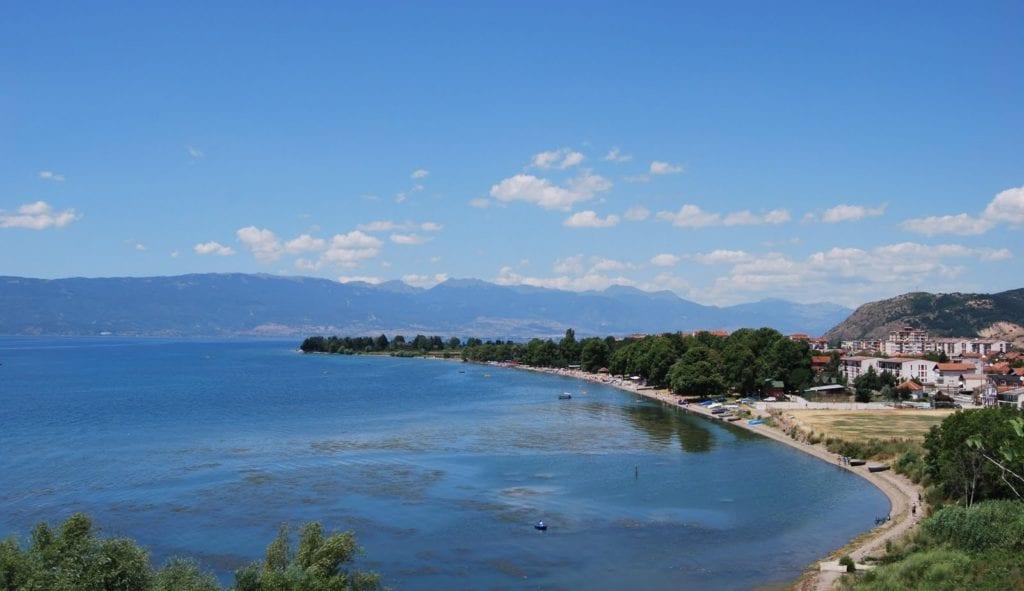 Jezioro Ohrid Macedonia - Najrzadziej odwiedzane państwa w Europie