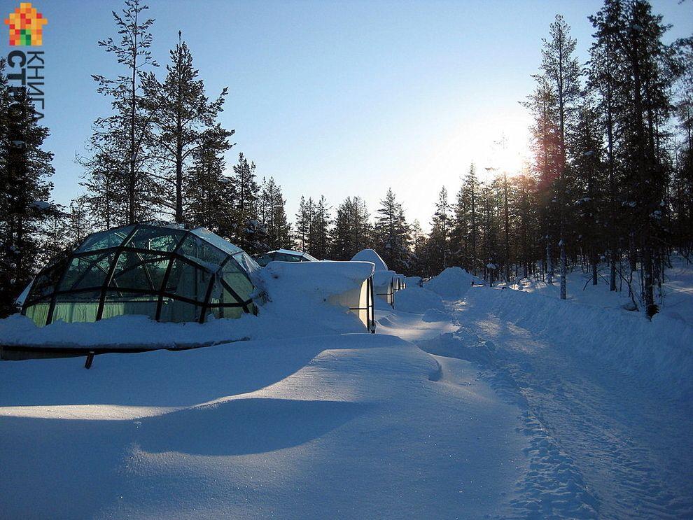 Kakslauttanen hotel Finlandia Laponia