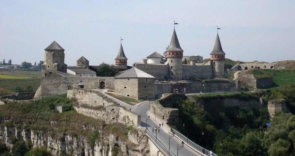 Kamieniec Podolski, Ukraina - najrzadziej odwiedzane państwa w Europie