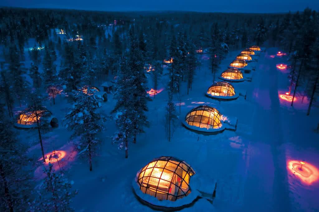 Kakslauttanen hotel finlandia