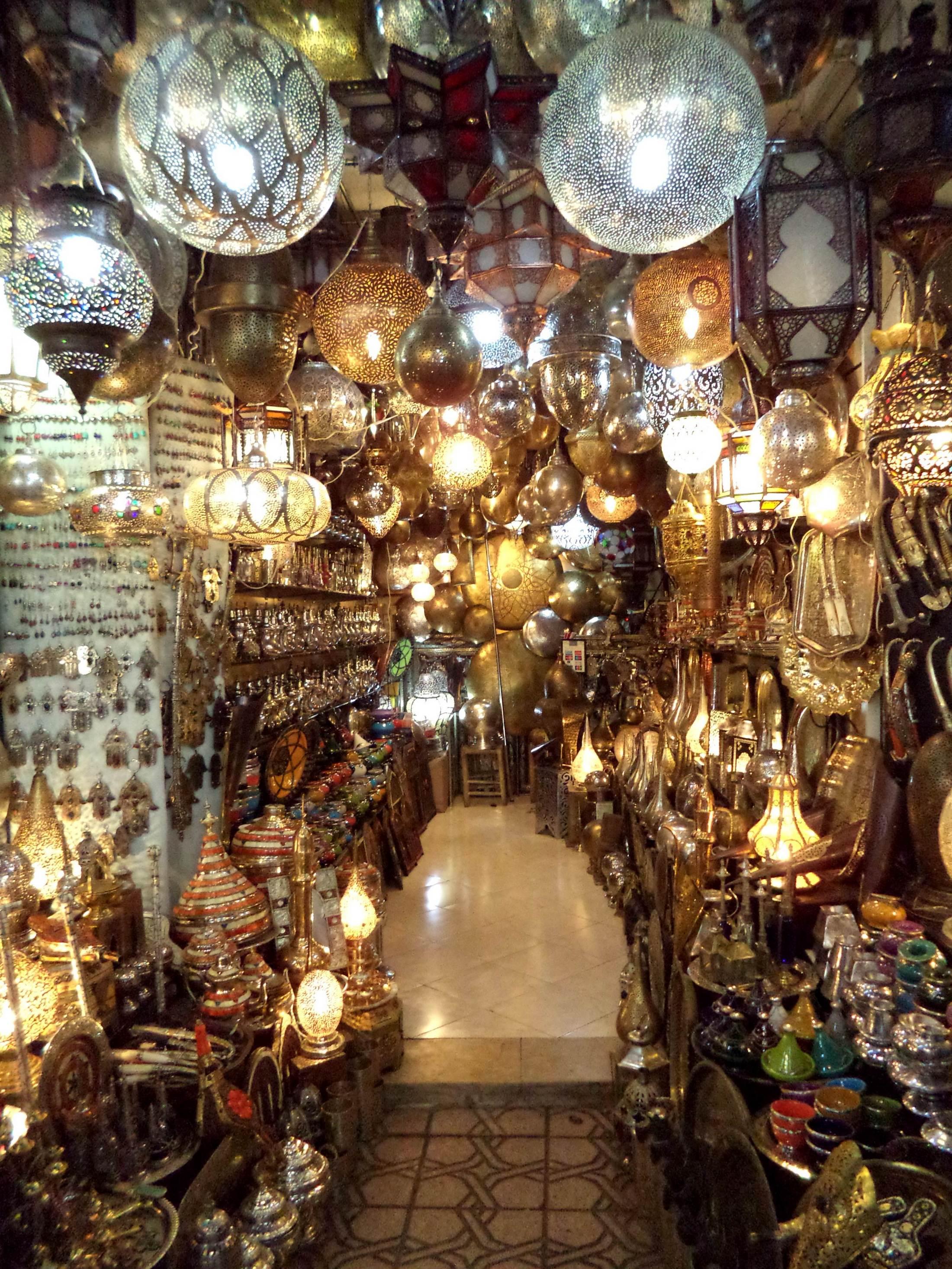 Maroko - wakacje. Suk Bazar