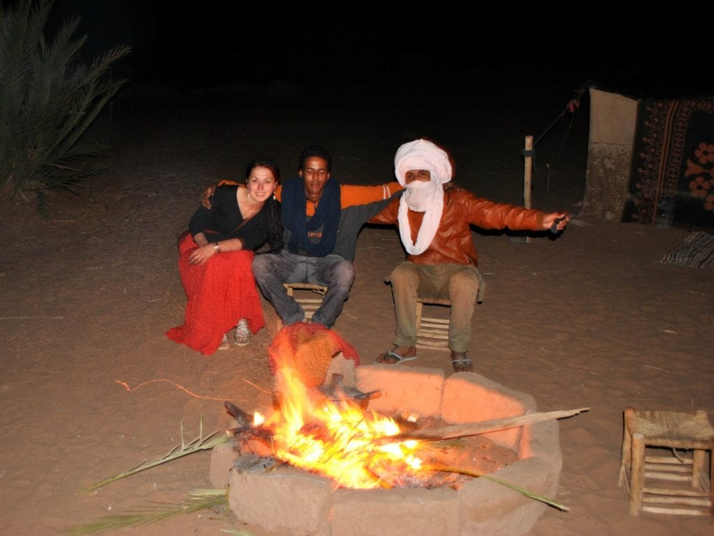 Noc na Saharze i Berberowie. Maroko - wakacje