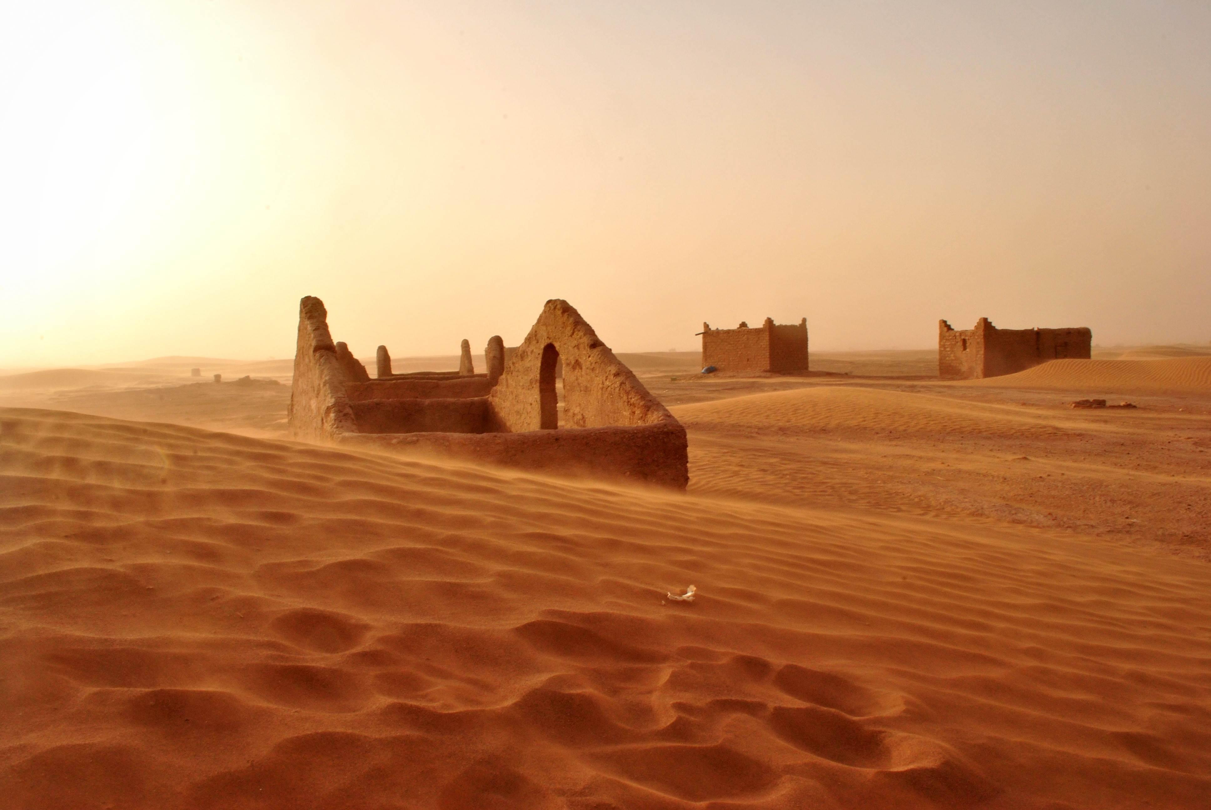 Pustynia Sahara w Maroko