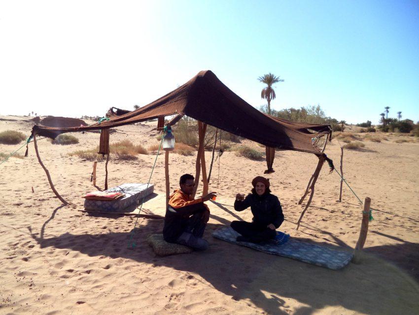 Podróżę Berberowie lokalna ludność afryka