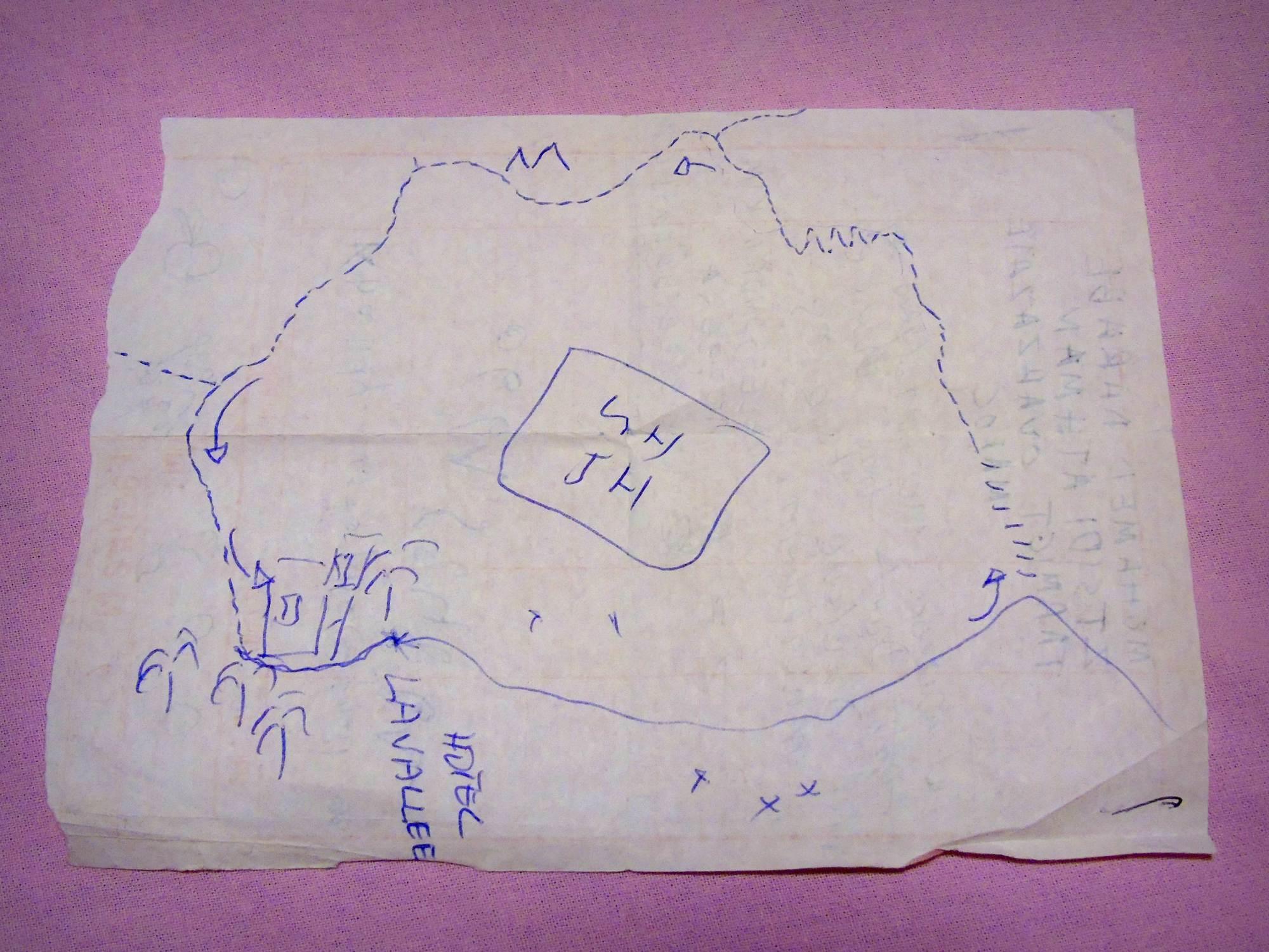 Mapa Berberowie Maroko - wakacje Todra