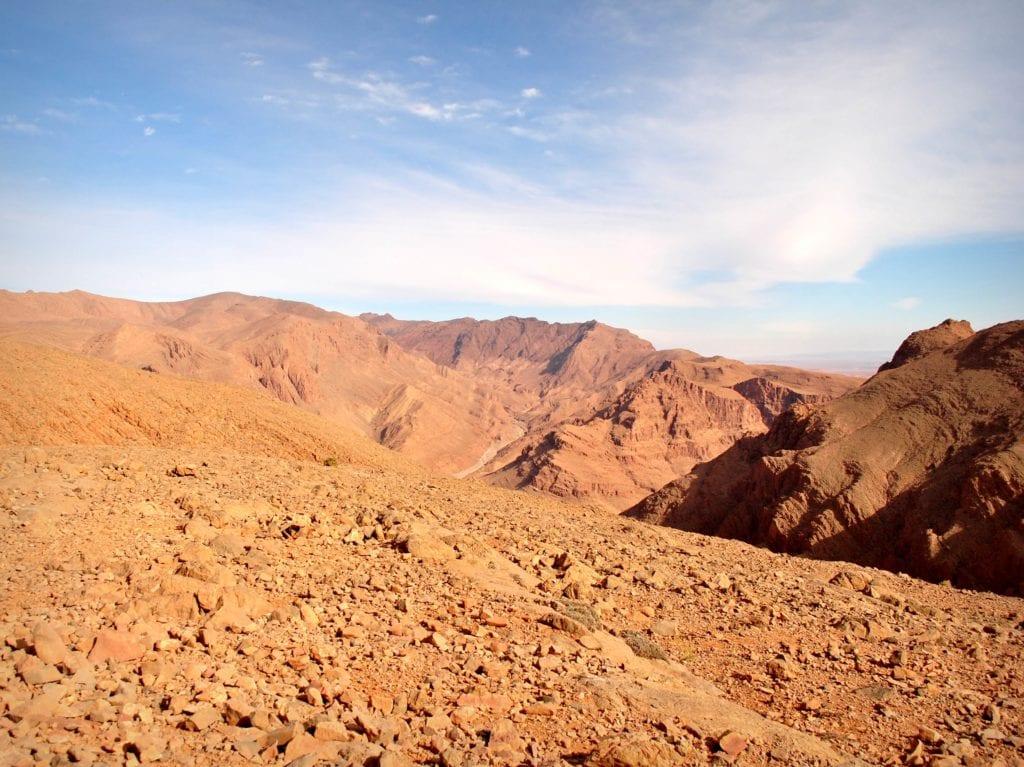 Wąwóz Todra. Maroko - wakacje