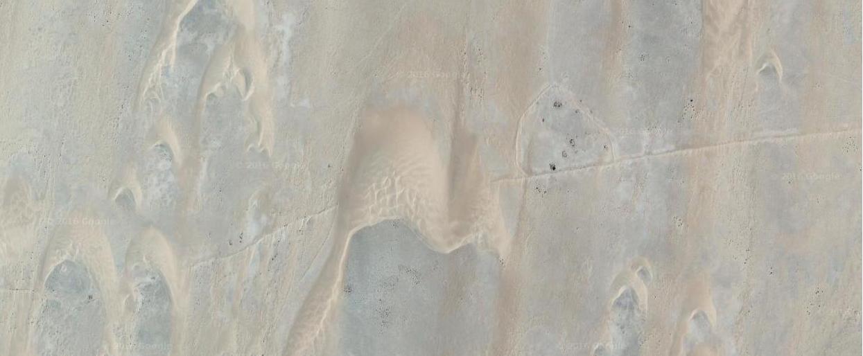 wał nasyp pustynia afryka maroko