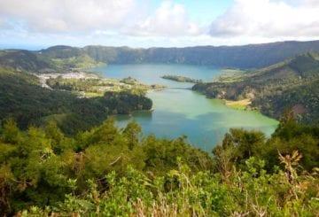 lagoa das sete cidades portugalia