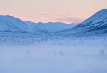 Syberia zima mrozy