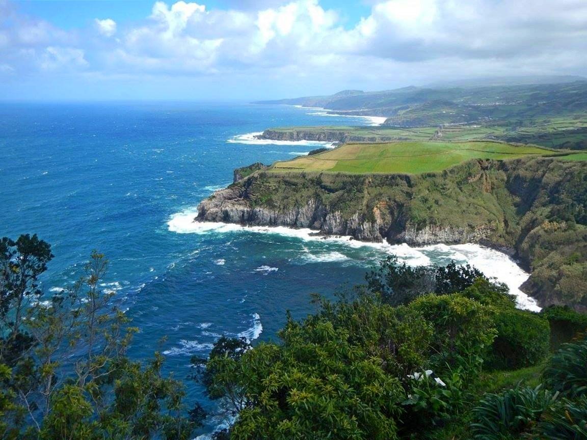 klify azory atlantyk ocean