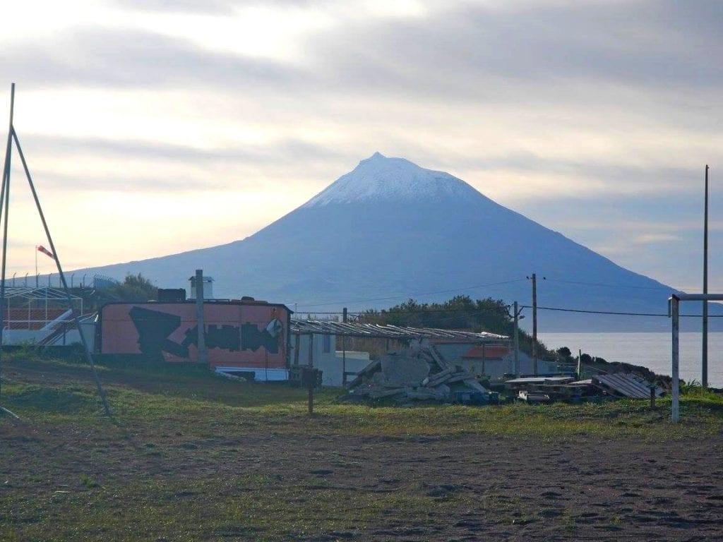 Wulkan Pico Portugalia Azory