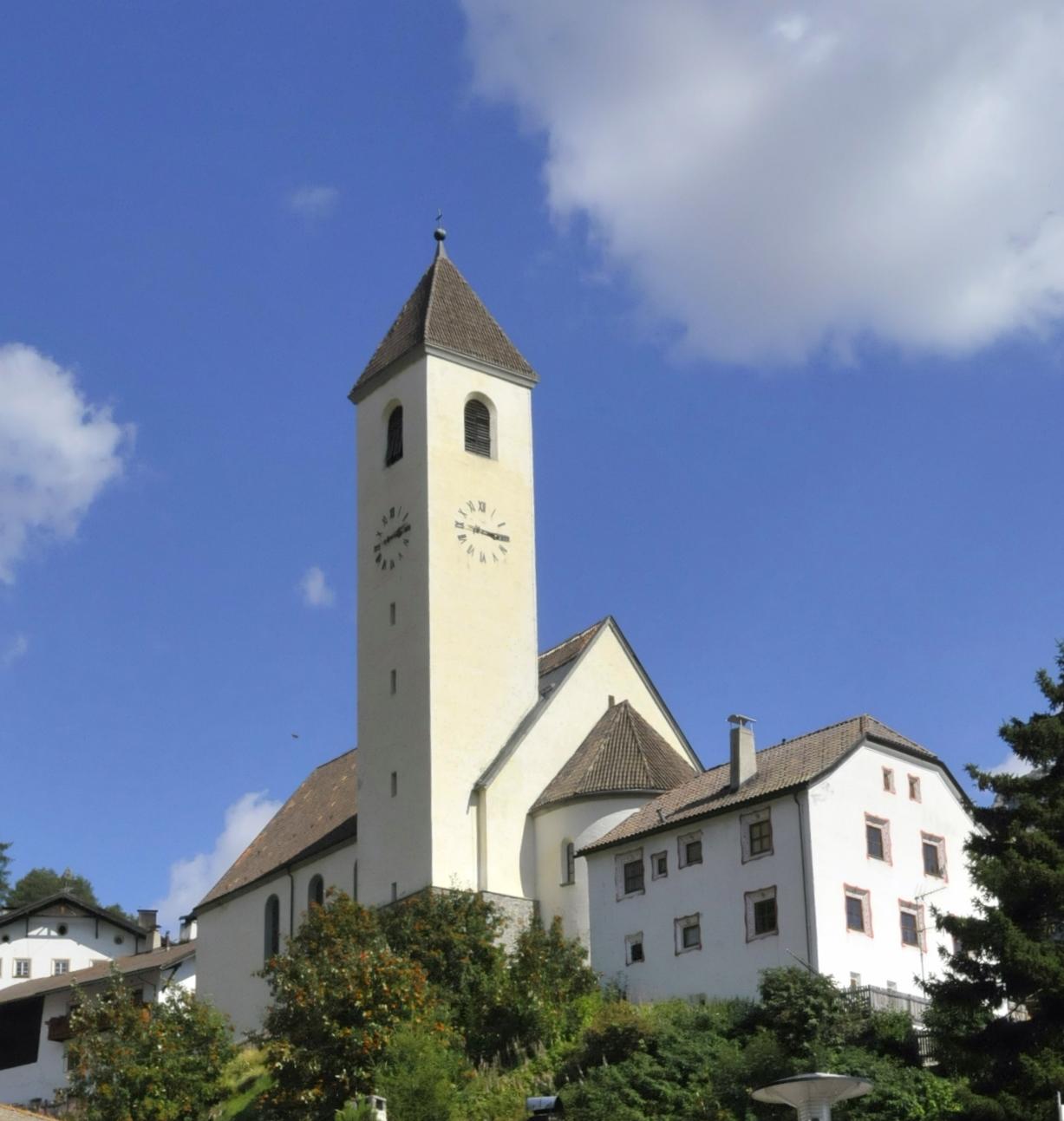 Curon i nowy kościół