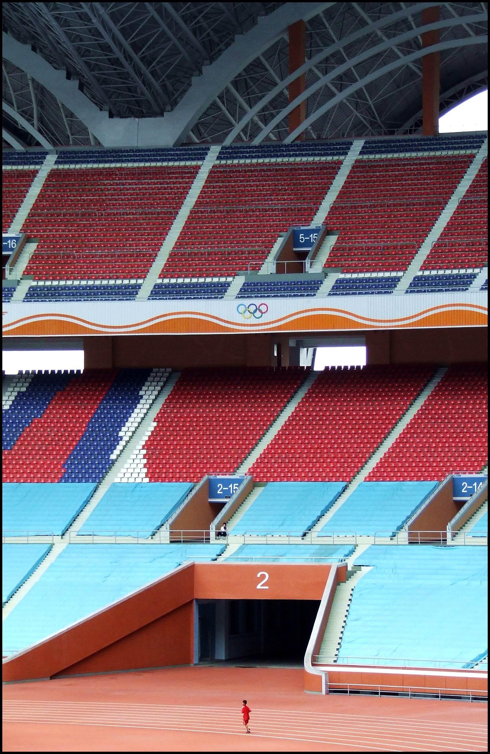 Trybuny największego stadionu świata