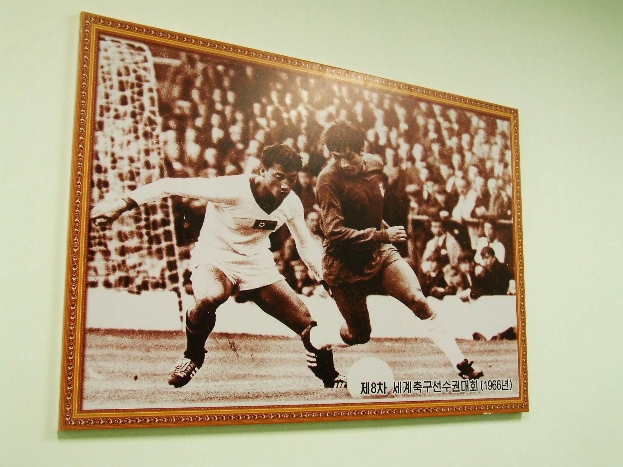 Zdjęcie z mistrzostw świata w 1966 roku - największy stadion świata