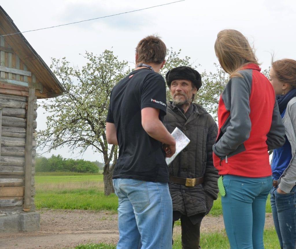 ostatni mieszkaniec wsi Czarnobyl - Białoruś - zona