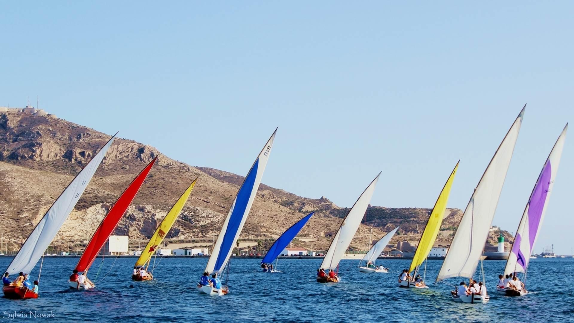Murcja - Regaty żeglarskie w Murcji