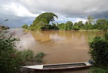 Wyspa Don Det na Mekongu