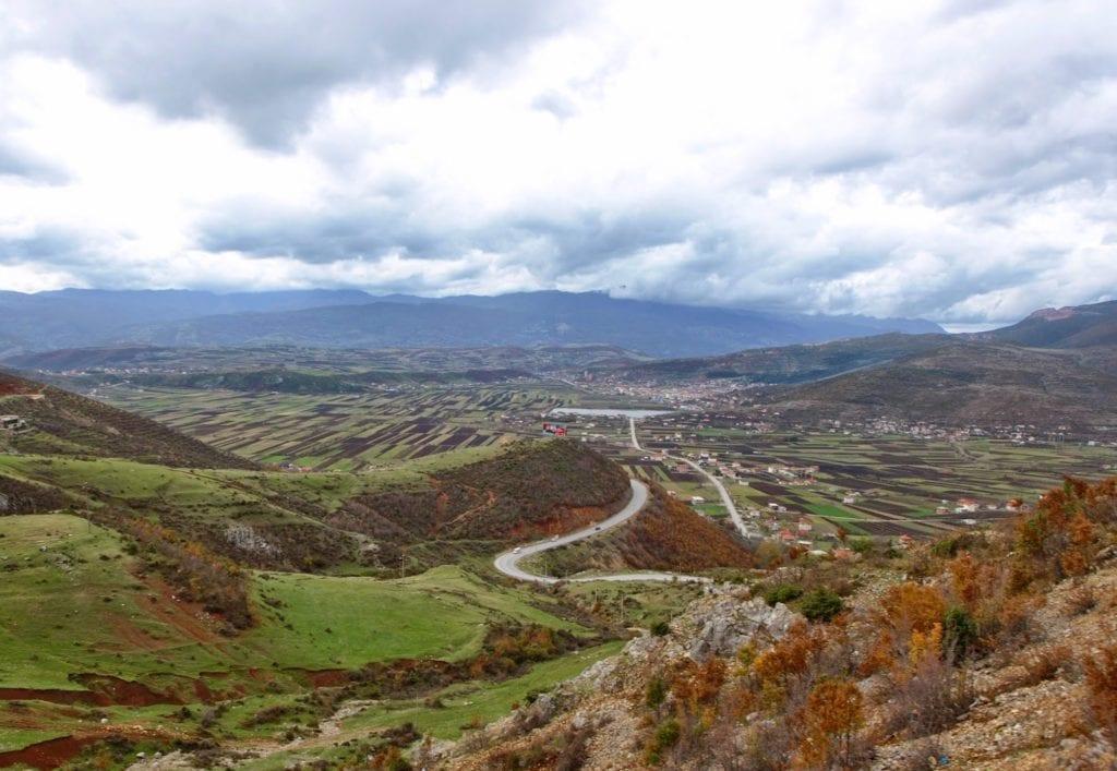 Krajobraz Albanii -podróż do Albanii